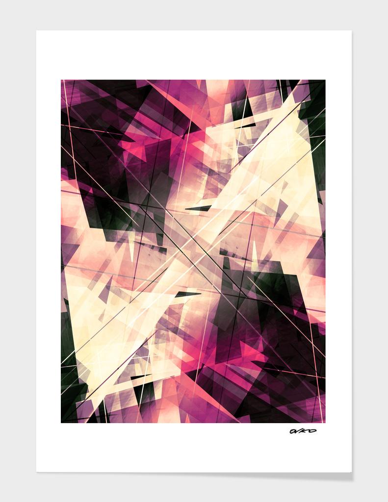 Future Punk - Geometric Abstract Art