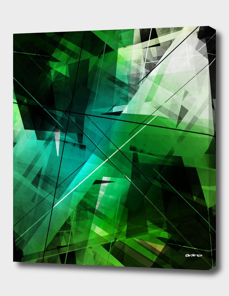 Jungle - Geometric Abstract Art