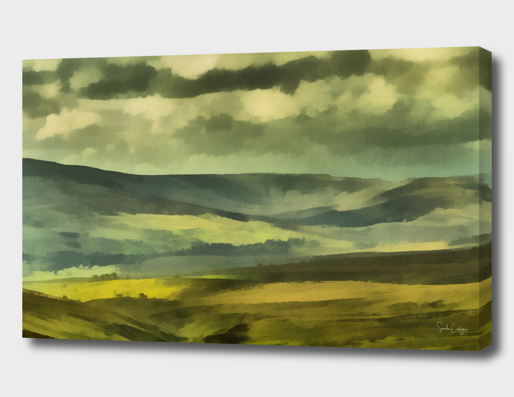 1 Wensleydale from Buttertubs Pass - Realism