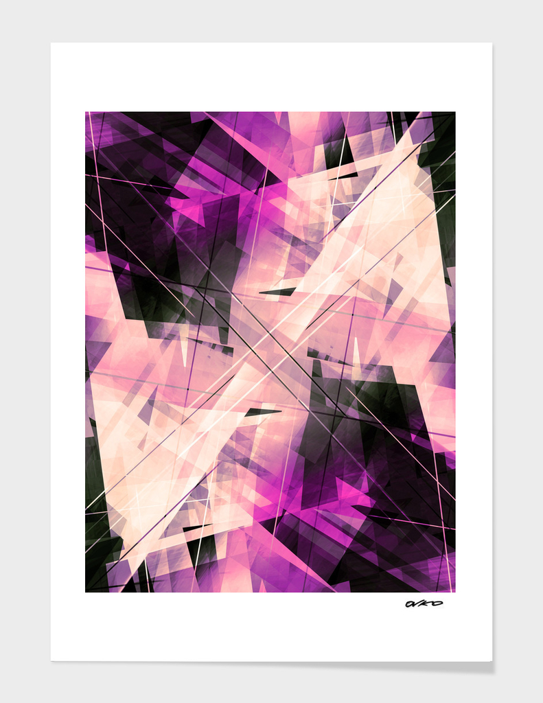 Polished Punk - Geometric Abstract Art