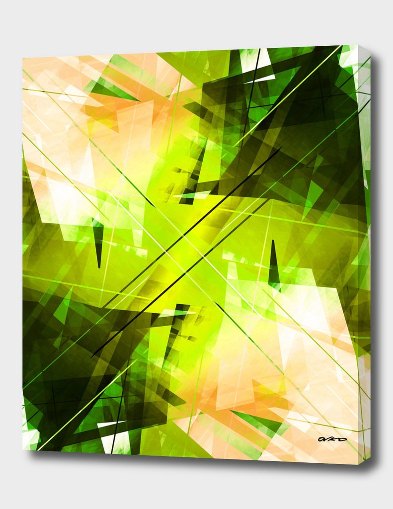 Toxic - Geometric Abstract Art