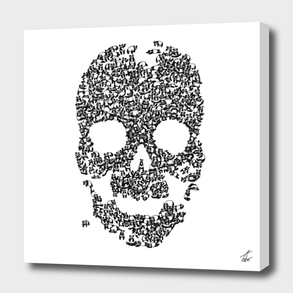 Panda is Cool/Skull