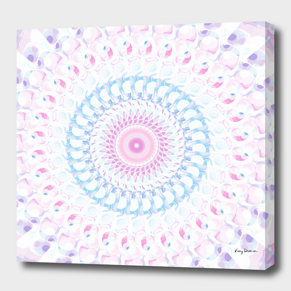 Pastel Wave Mandala