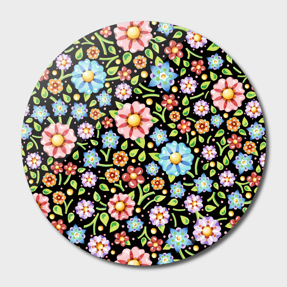 Millefiori FloralTextile