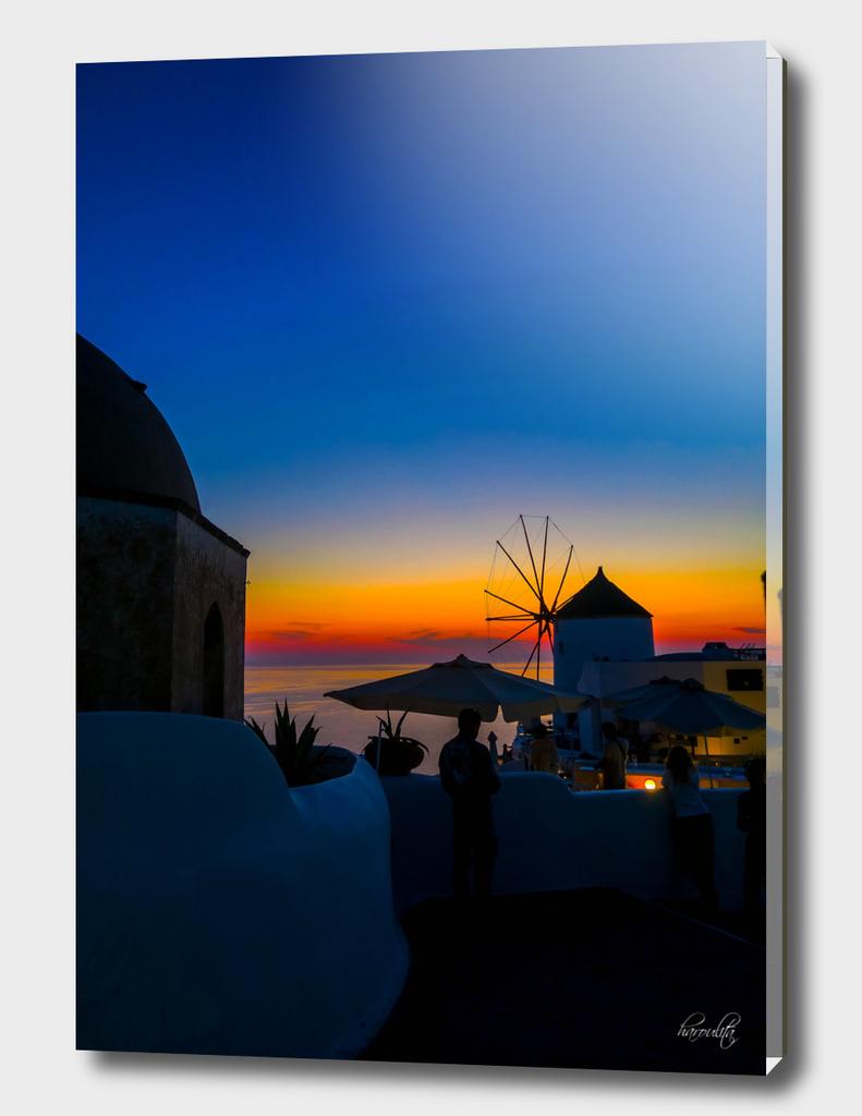 santorini sunset s