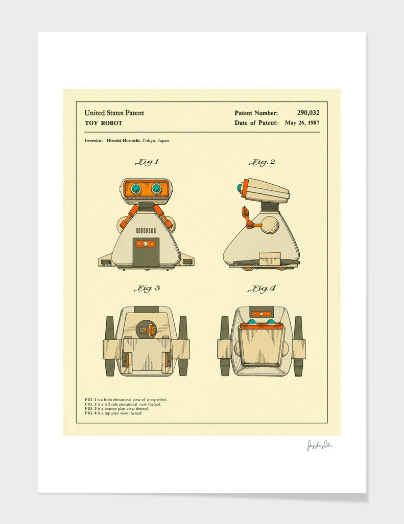 Robot Patent (1987)