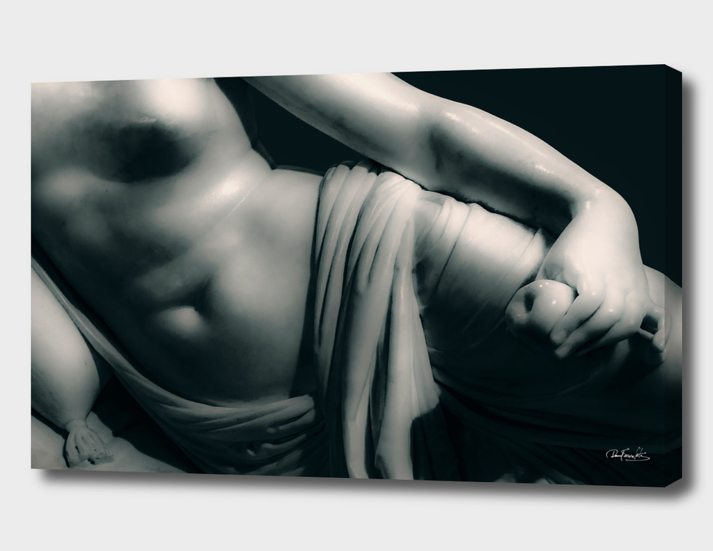 Woman on Bed Sculpture Photography