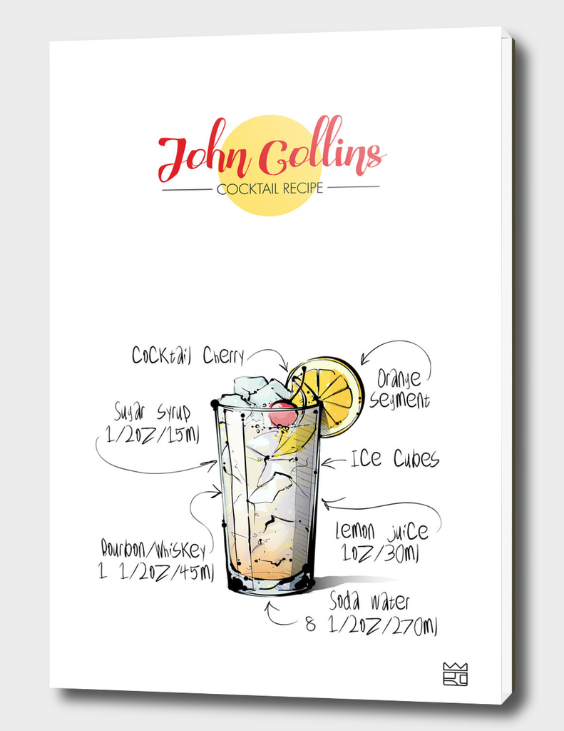 John Collins cocktail recipe