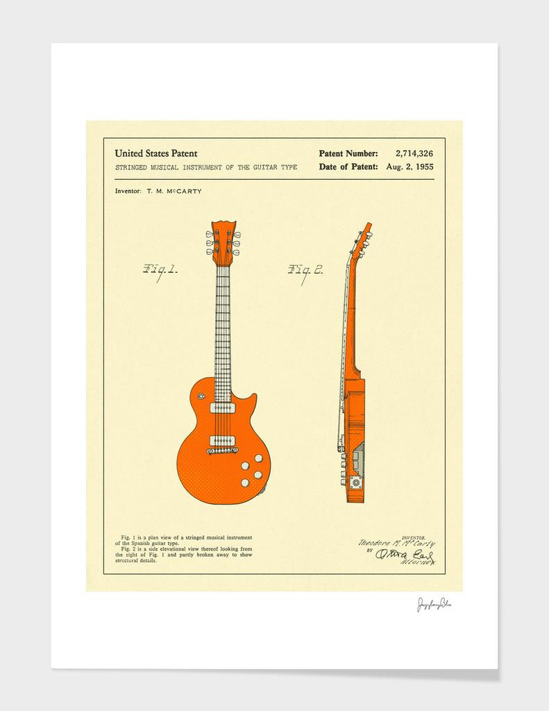 Guitar Patent - 1955