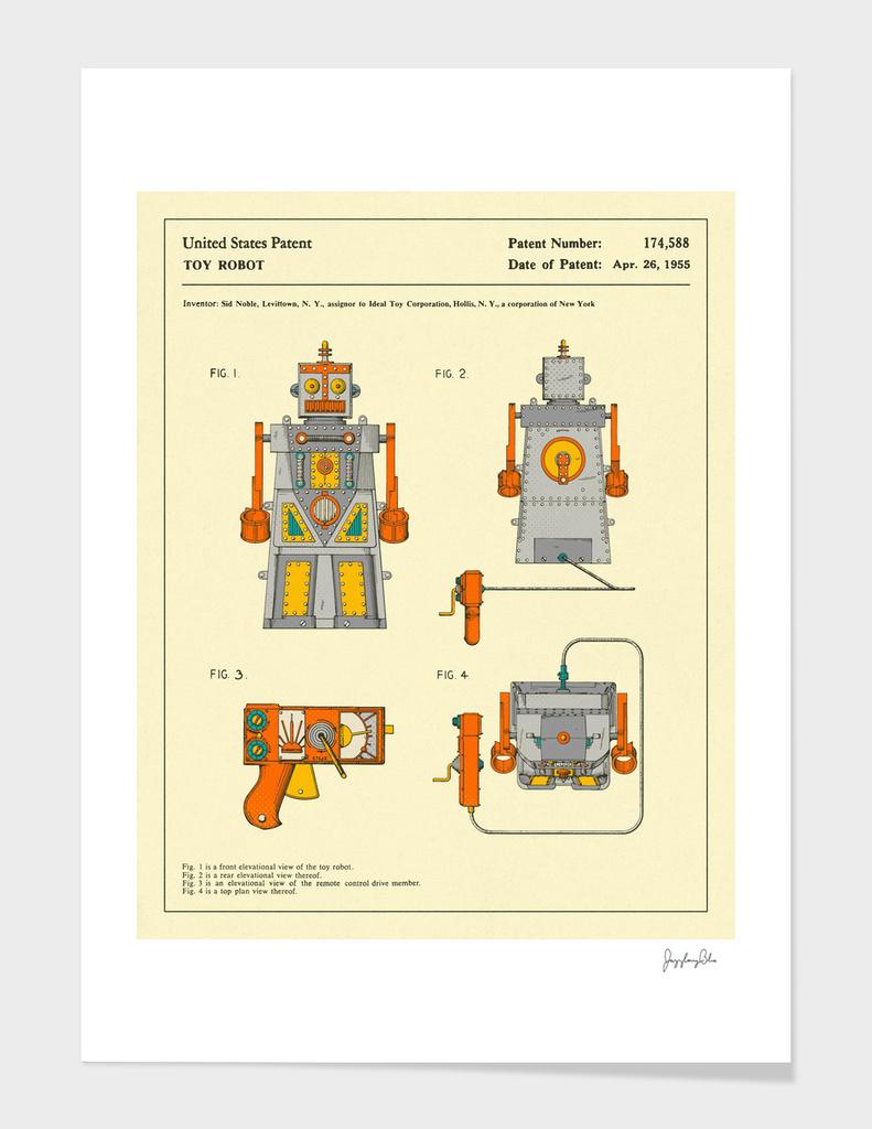 Robot Patent (1955)