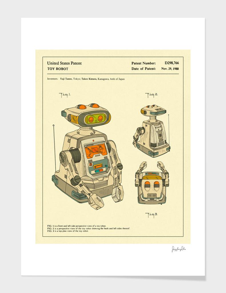 Robot Patent - 1988