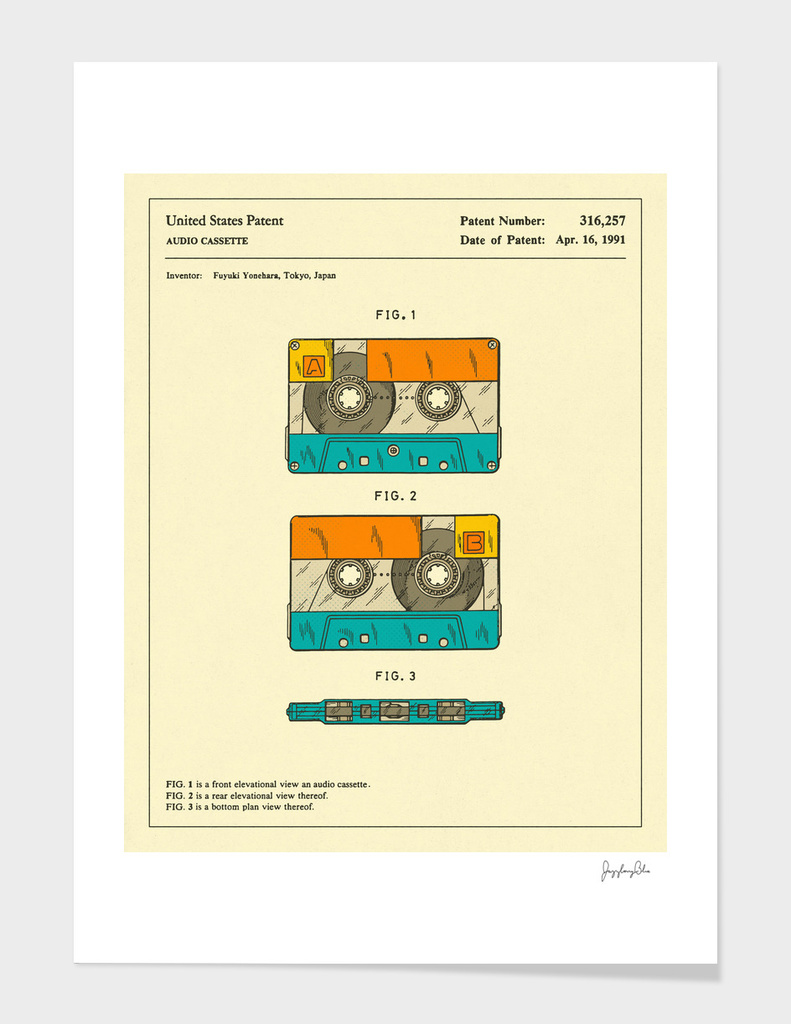Cassette Patent - 1991