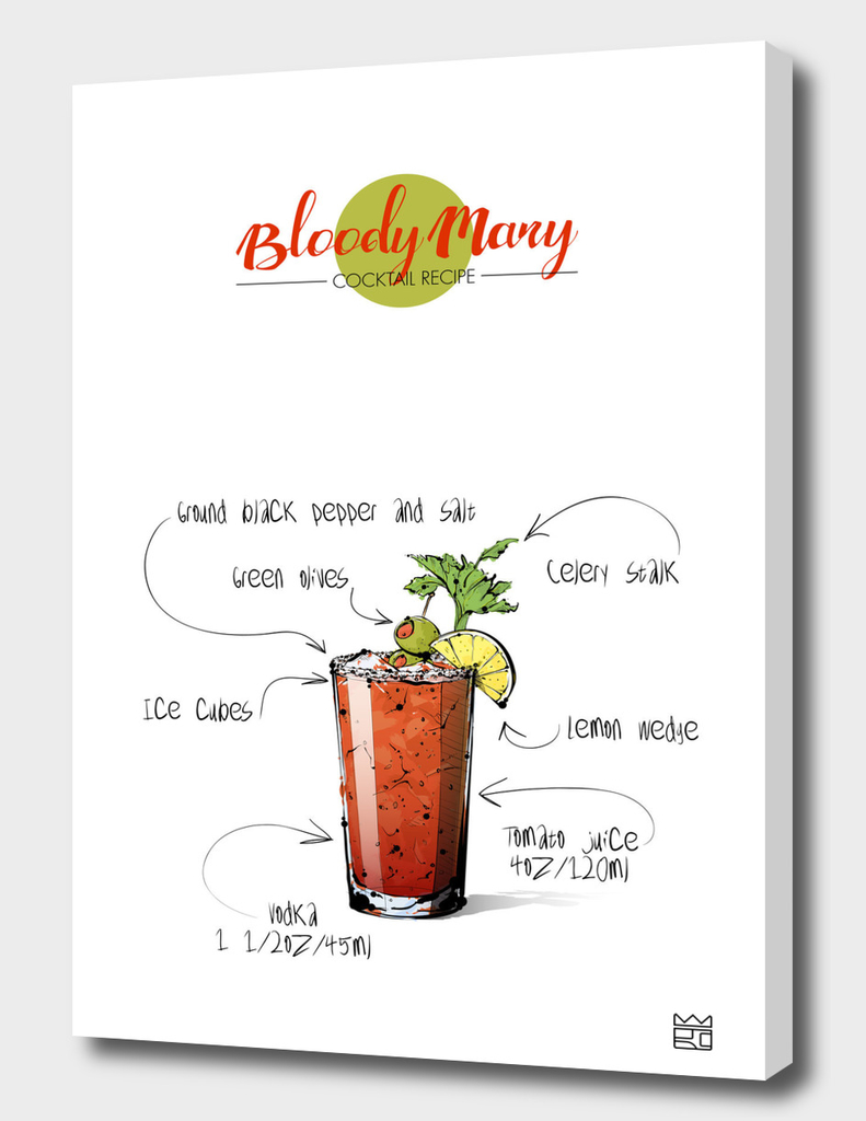 Bloody Mary cocktail recipe