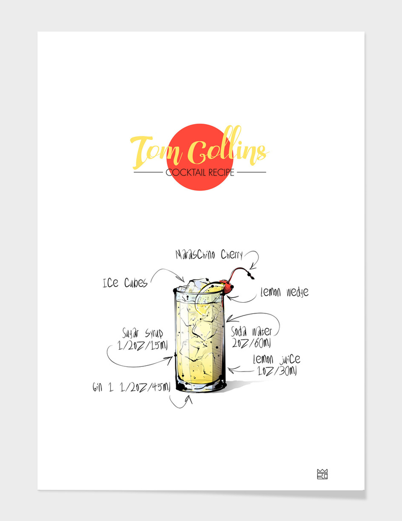Tom Collins cocktail recipe