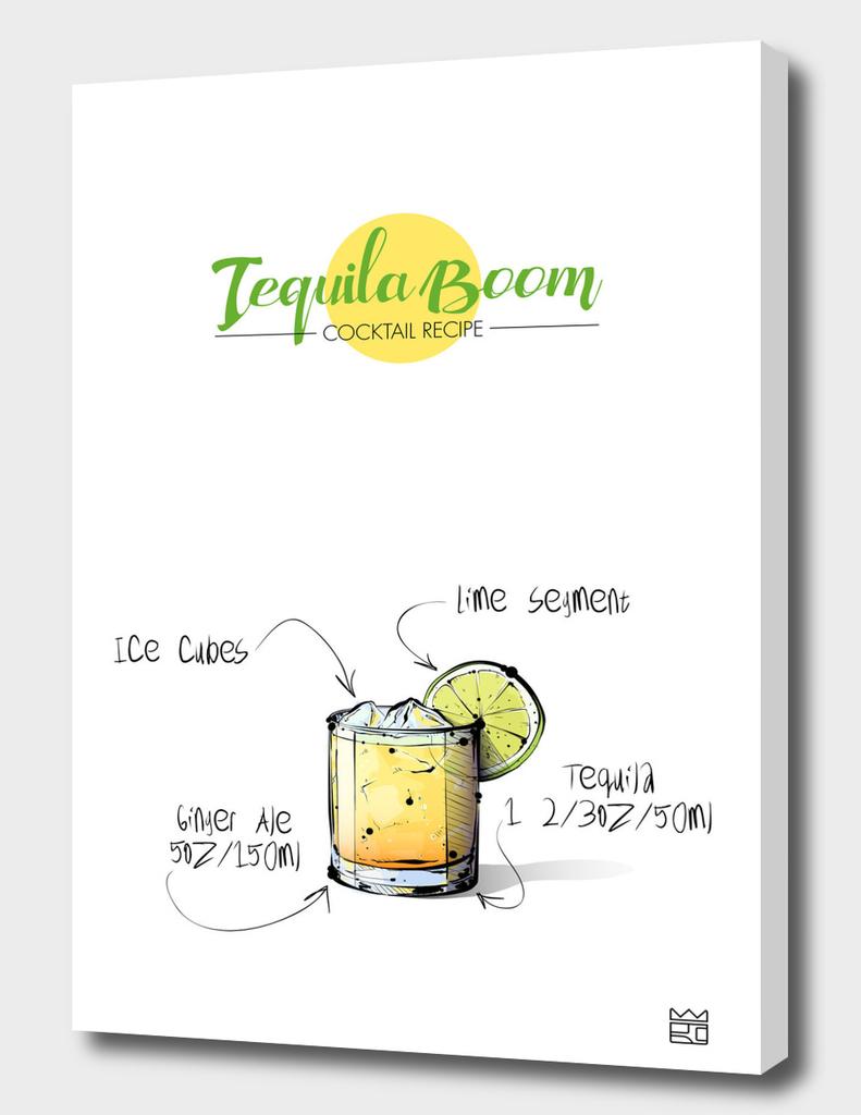 Tequila Boom cocktail recipe