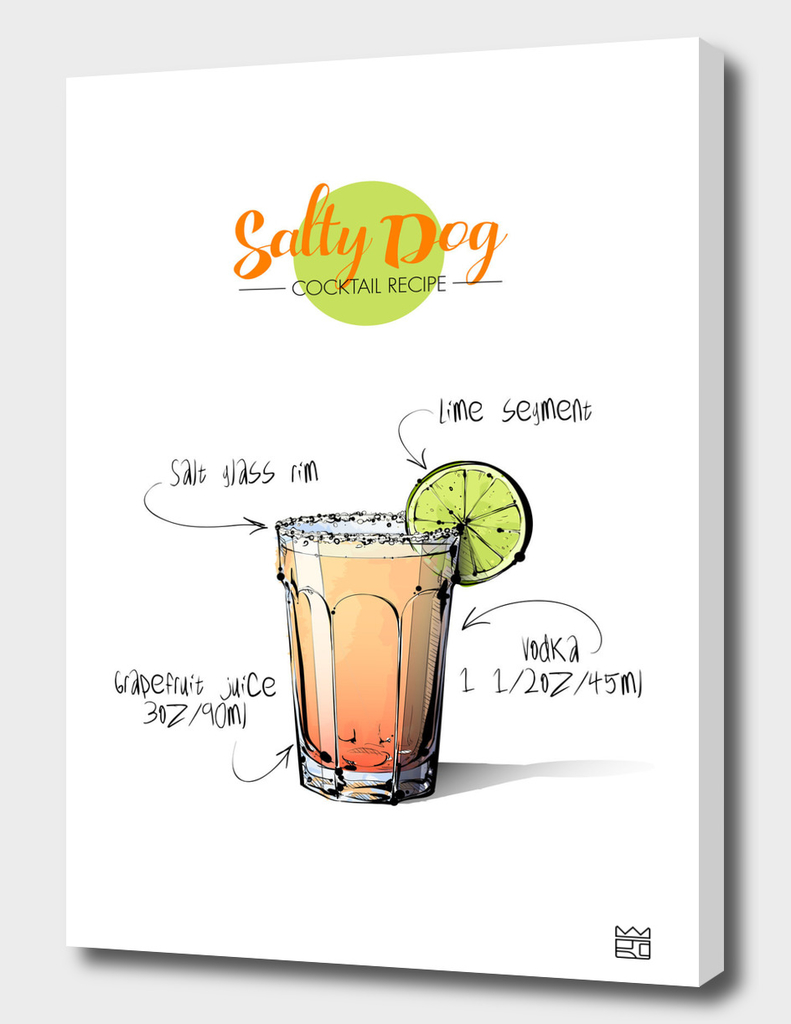 Salty Dog cocktail recipe