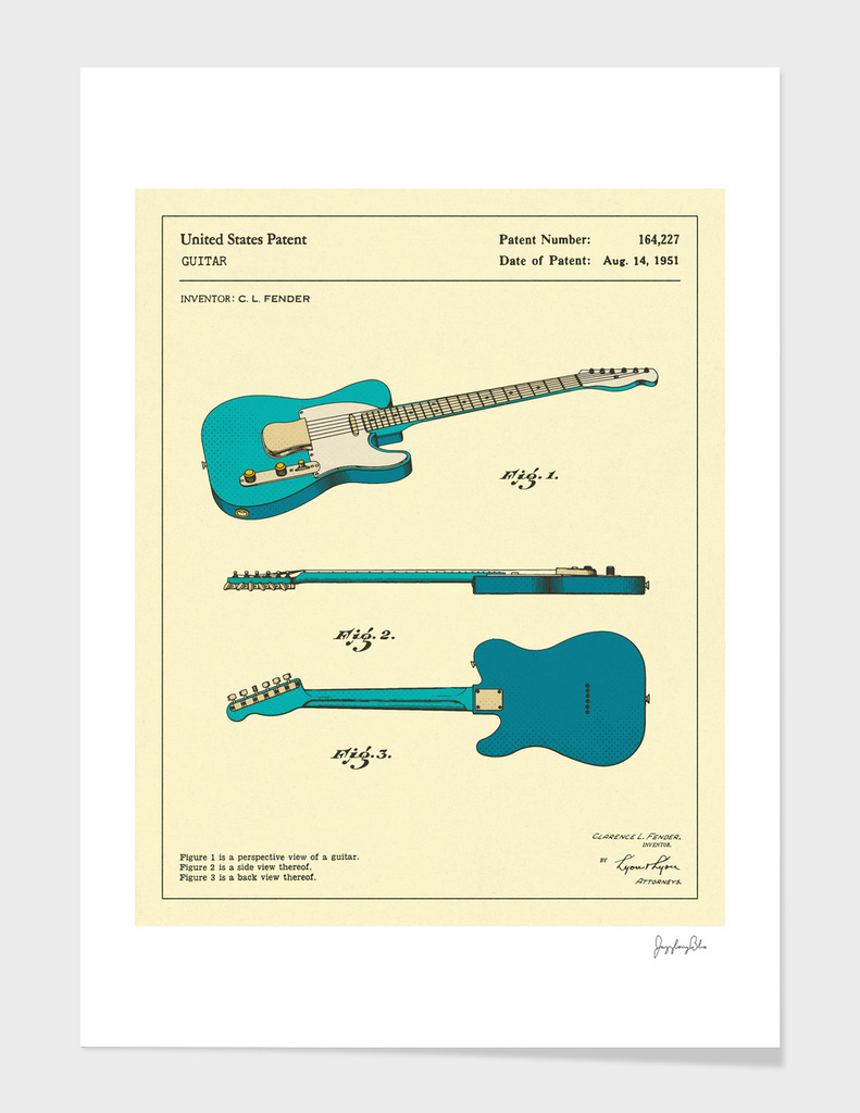 Guitar Patent (1951)