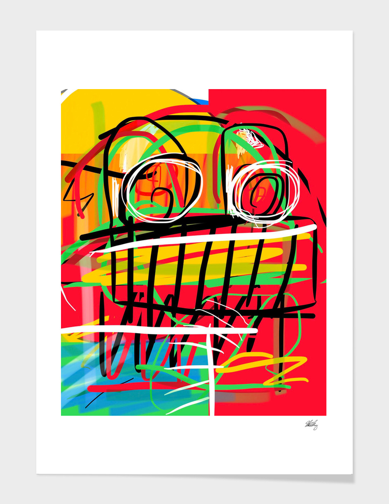 Basquiat Robot