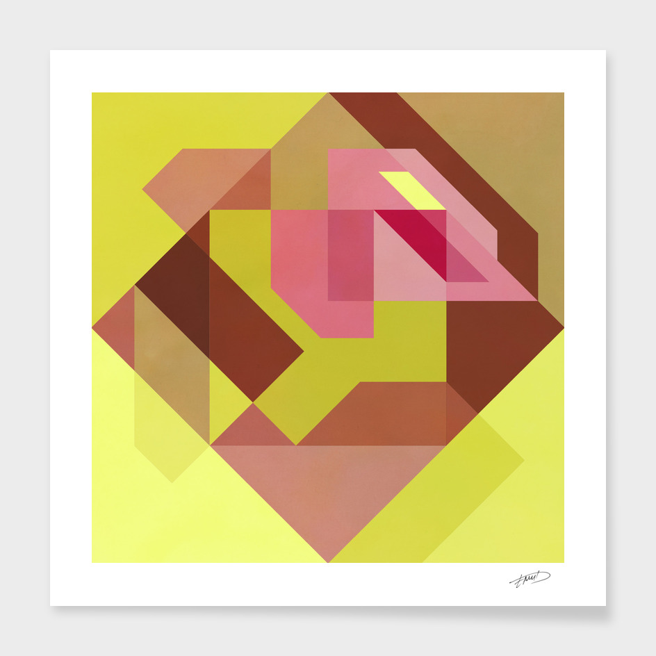 Abstract geometric II
