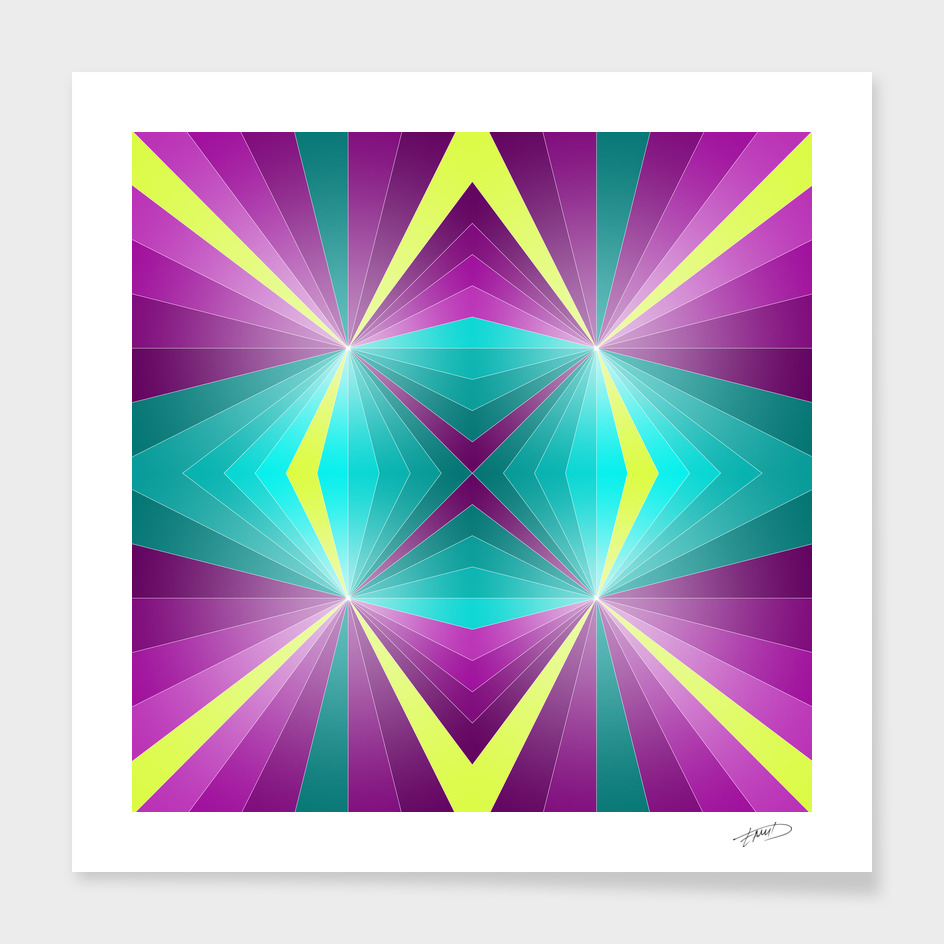 Abstract geometric III