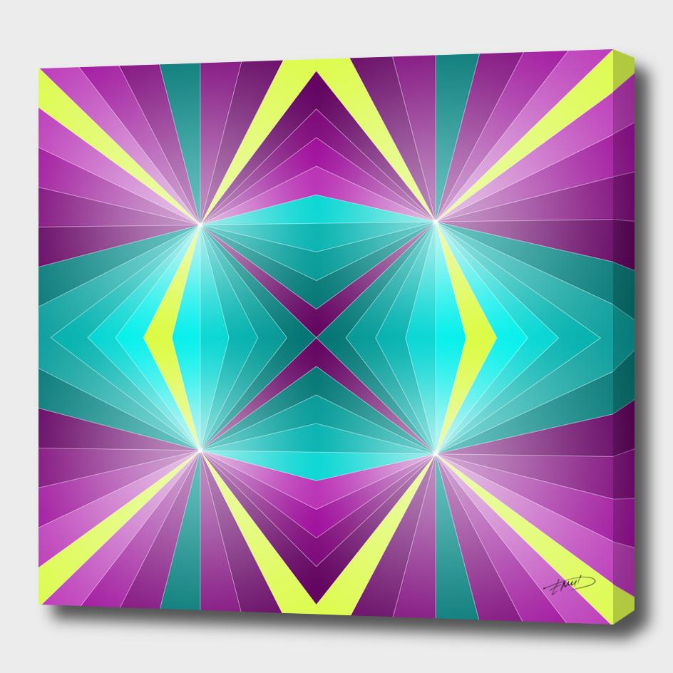 Abstract geometric III