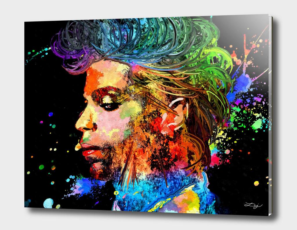 Prince Profile Grunge