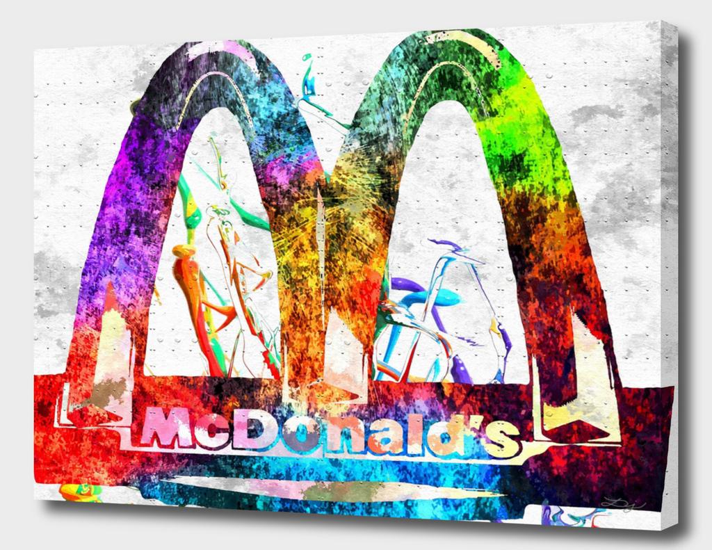 McDonald's Grunge