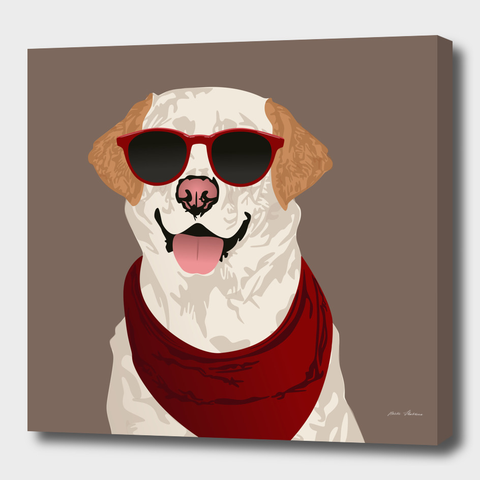 Funky Labrador Retriever for Dog Lovers