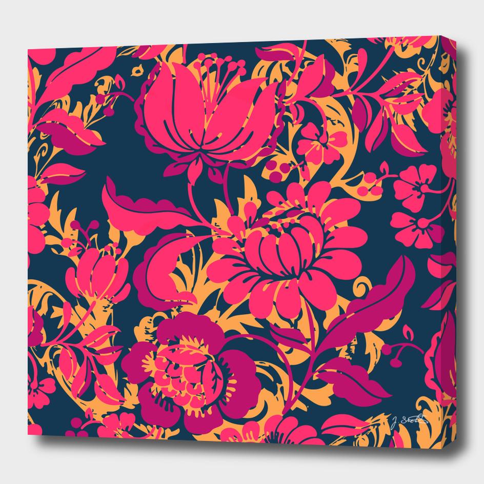 Boho Style No2, Floral pattern