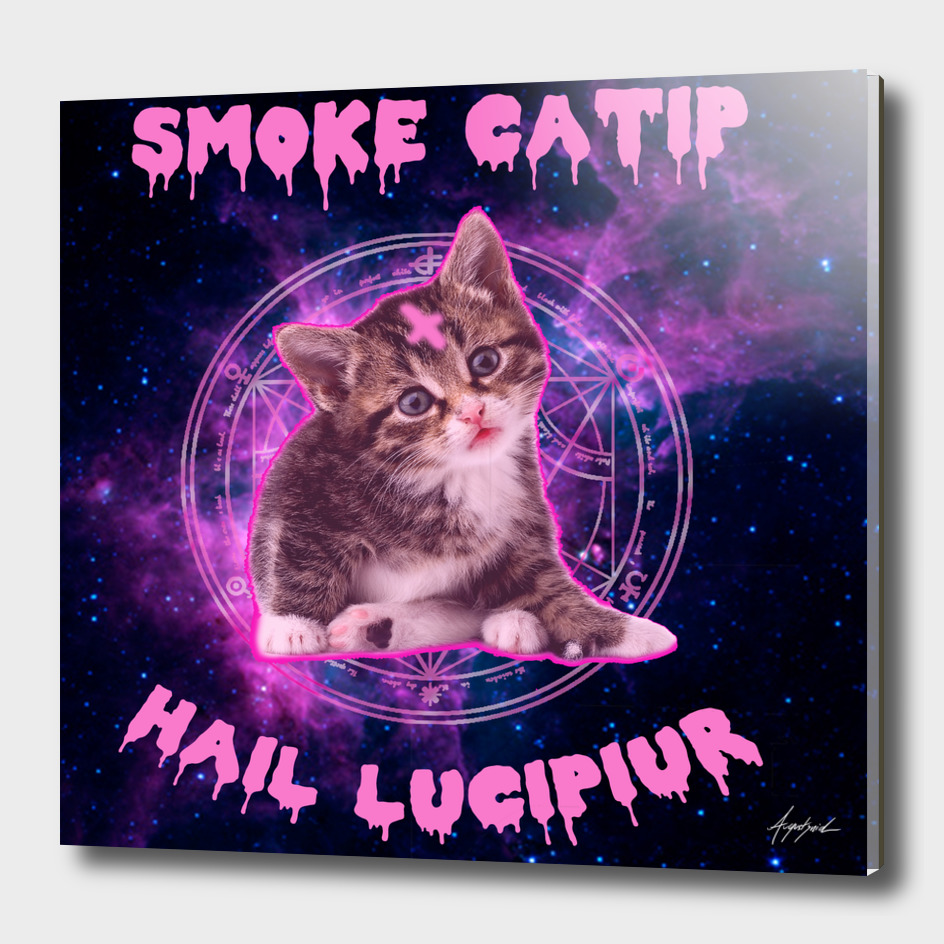 ALL OVER Hail Lucipiur Sweet Cat