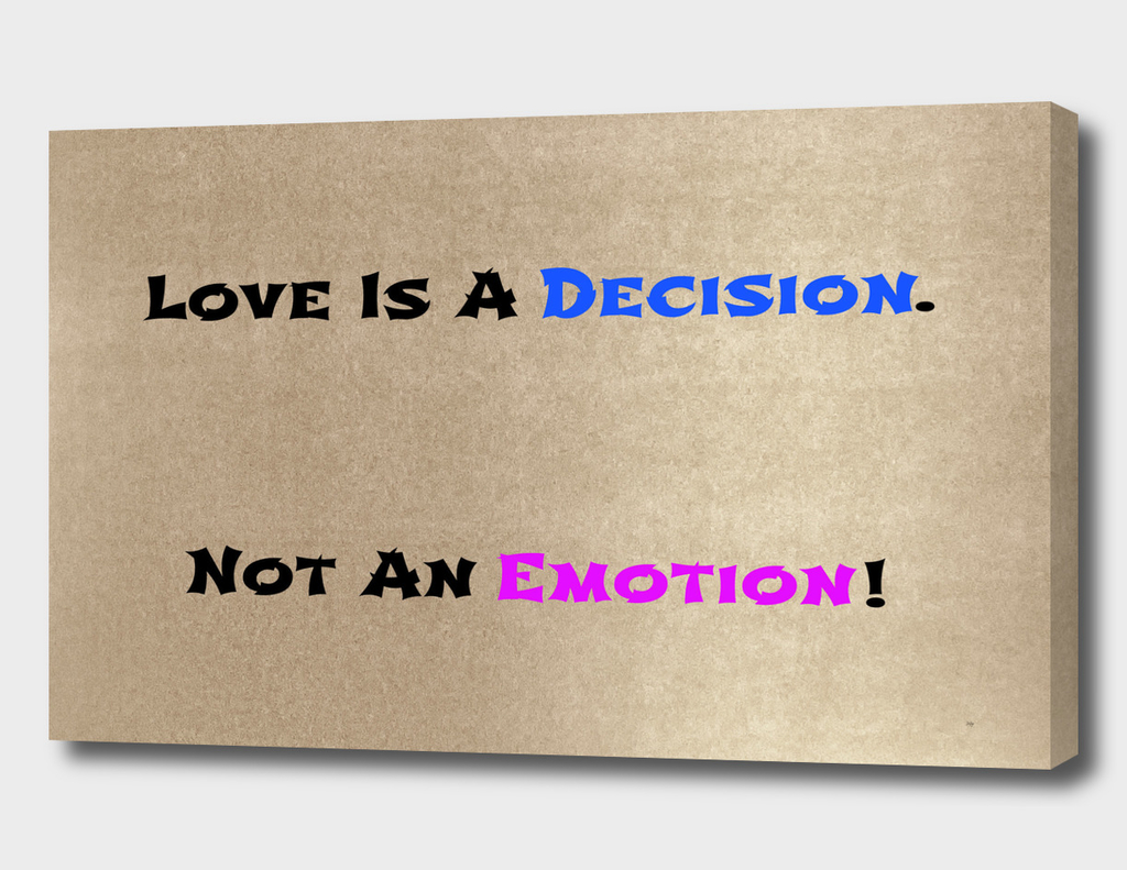 Decision/Emotion