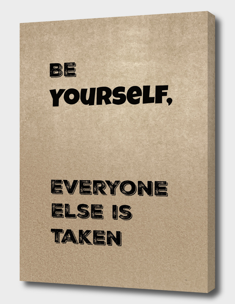 Be Yourself #2