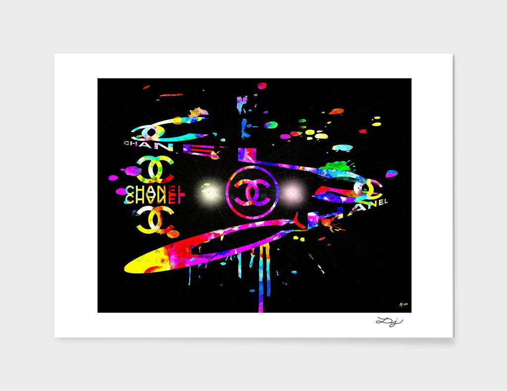 Chanel Luxury Fashion Art