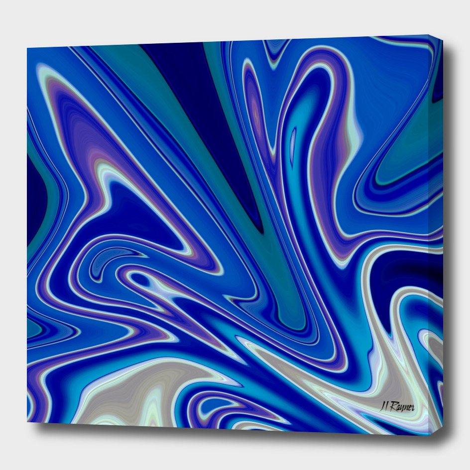 Abstract: A Splash of Blue