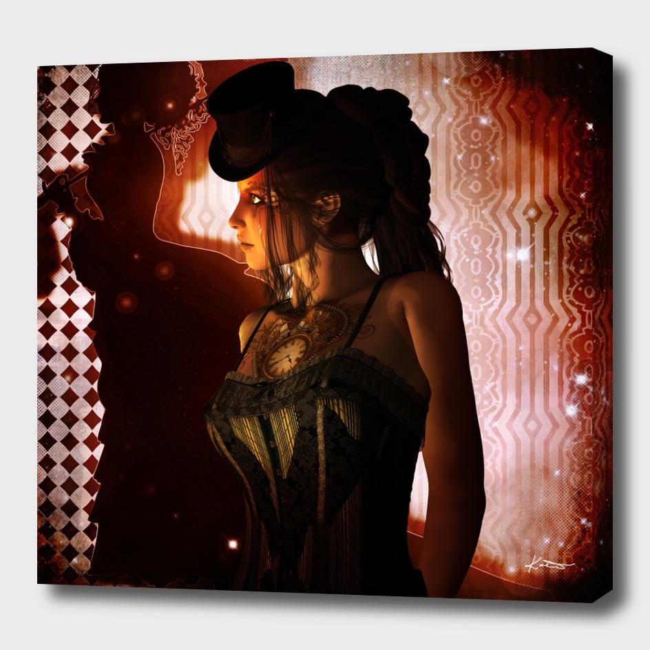 Wonderful steampunk lady