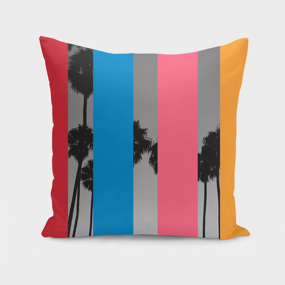 Pop Art Graphic Design Palm Trees
