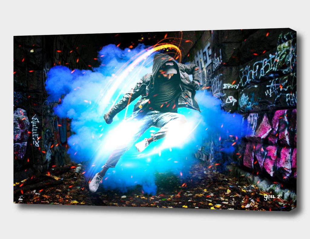 Urban Graffiti by GEN Z