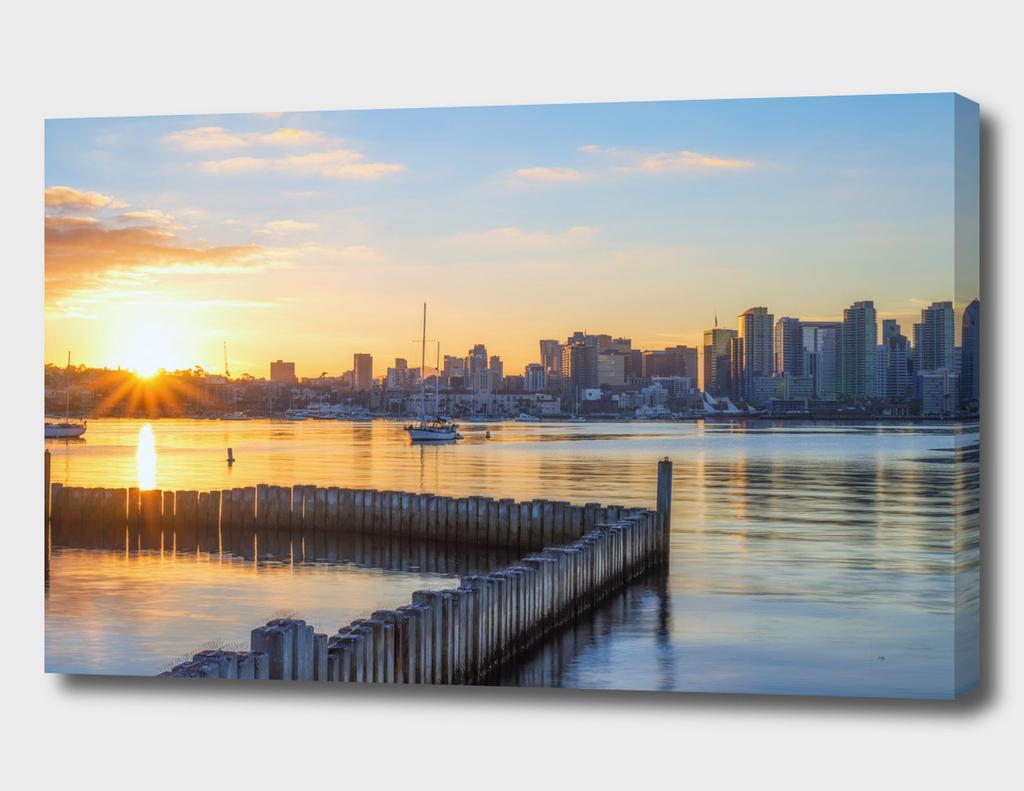 Perfect Harbor Sunrise