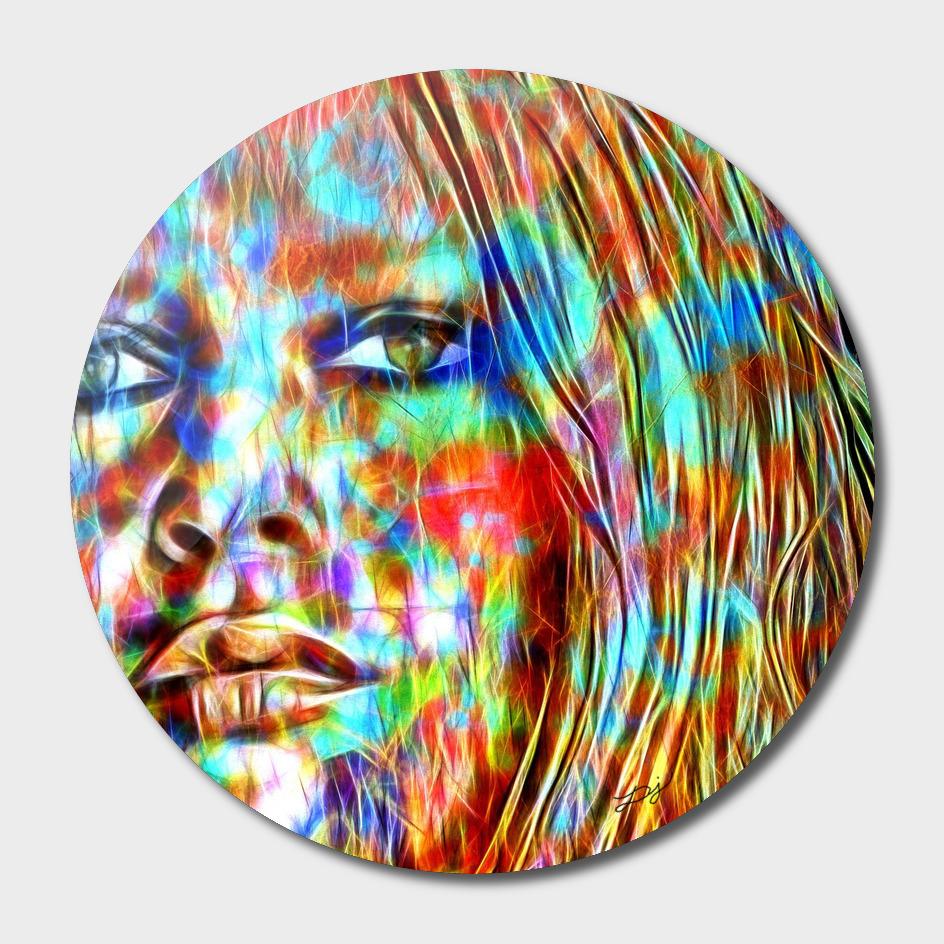 Brigitte Bardot in Color