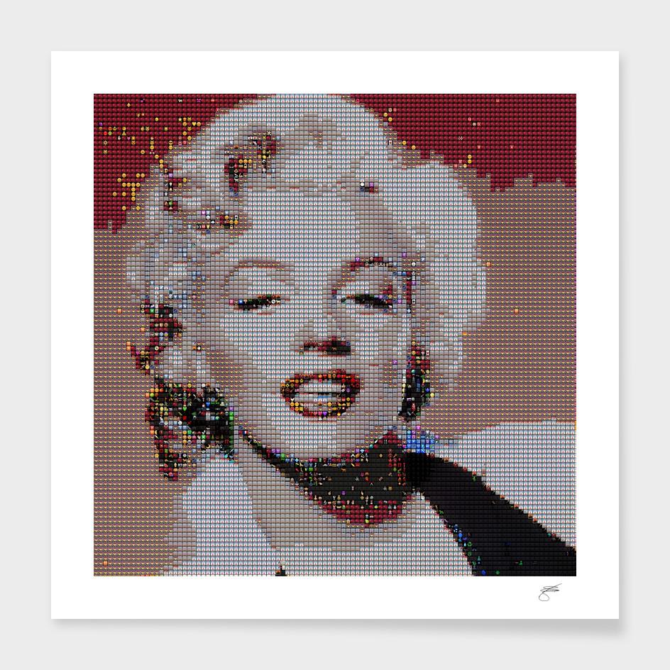 Emoj Marilyn Monroe