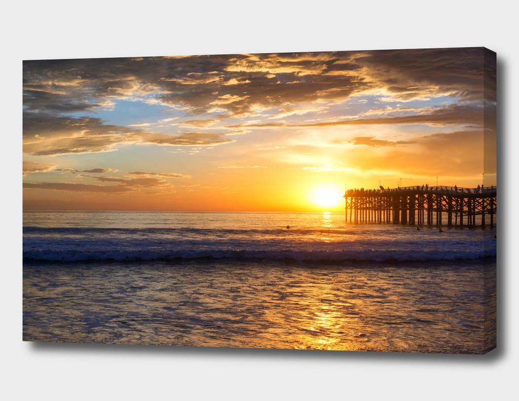 Mission Beach Sunset #1