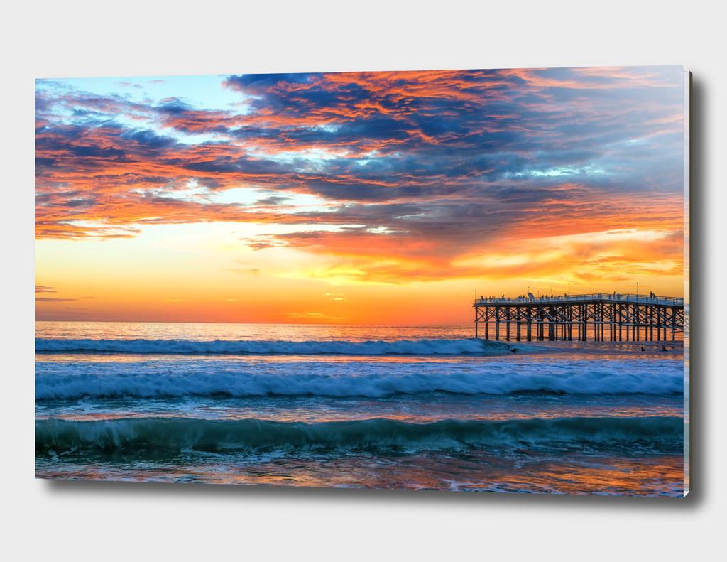 A Mission Beach Sunset #2