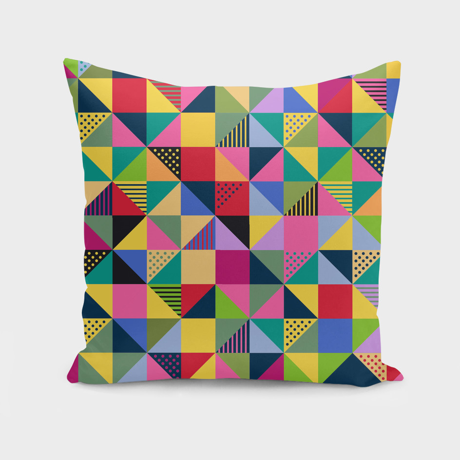 Abstract Squares Pattern