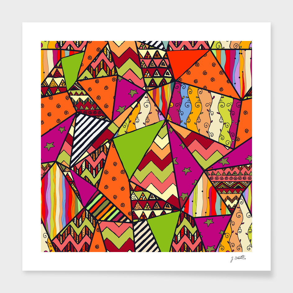 African Style No14, Tribal dance