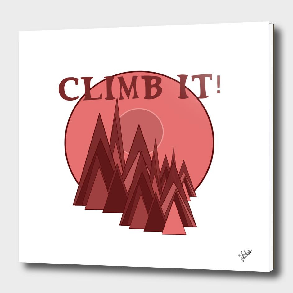 Climb it!