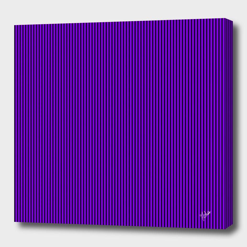 Strips in black & purple