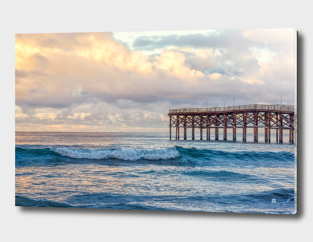 Winter At Crystal Pier