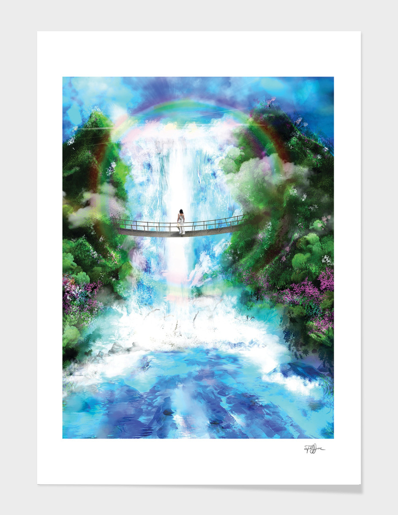 Waterfall of Light