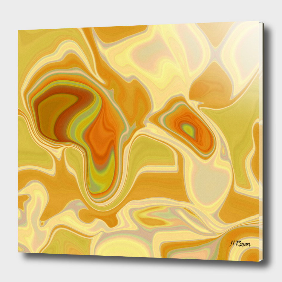 Abstract: Dreamscape in gold