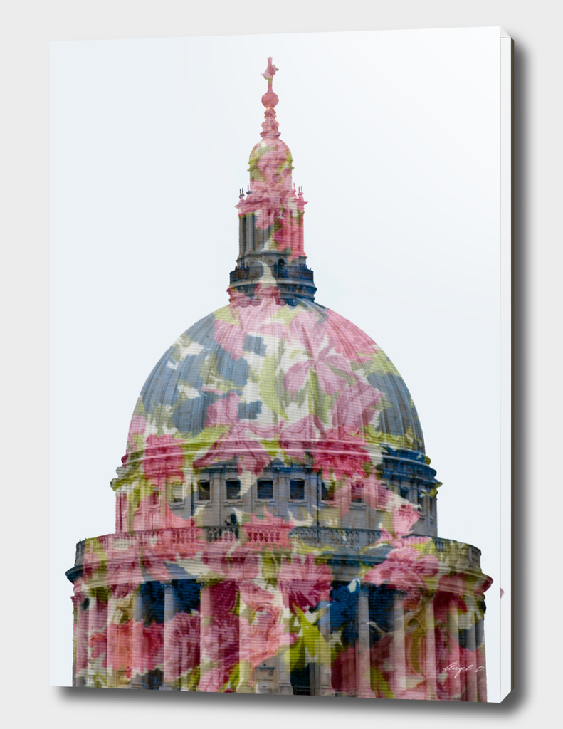 St Paul in blossom